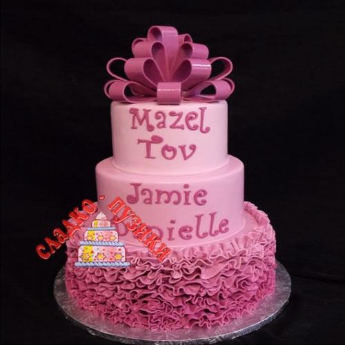 Свадебный торт сладость
