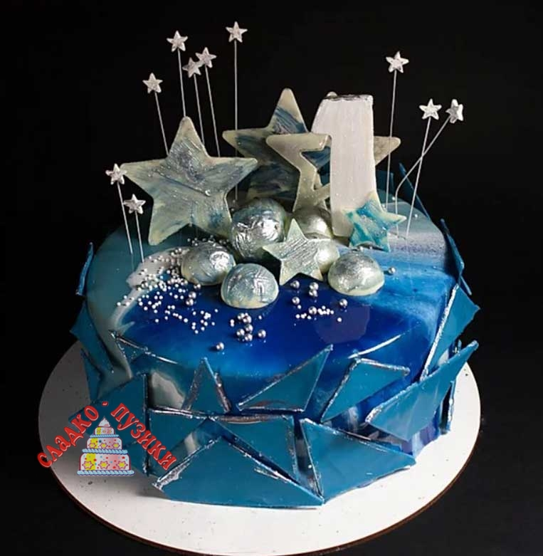 Детский торт звезда