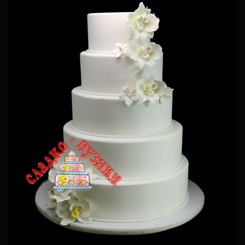 Свадебный торт ярус