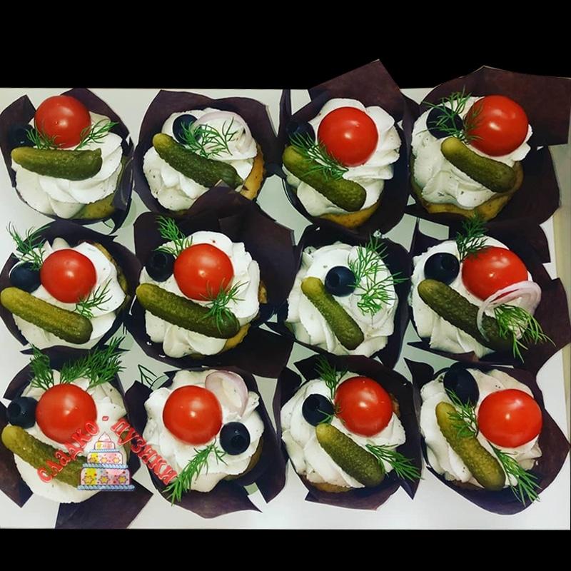 Набор соленых капкейков «Огород»