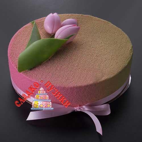 Торт тюльпан