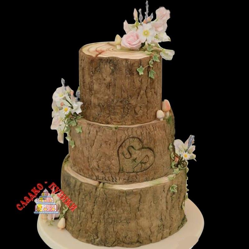 Свадебный торт Дерево