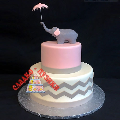 Детский торт слон