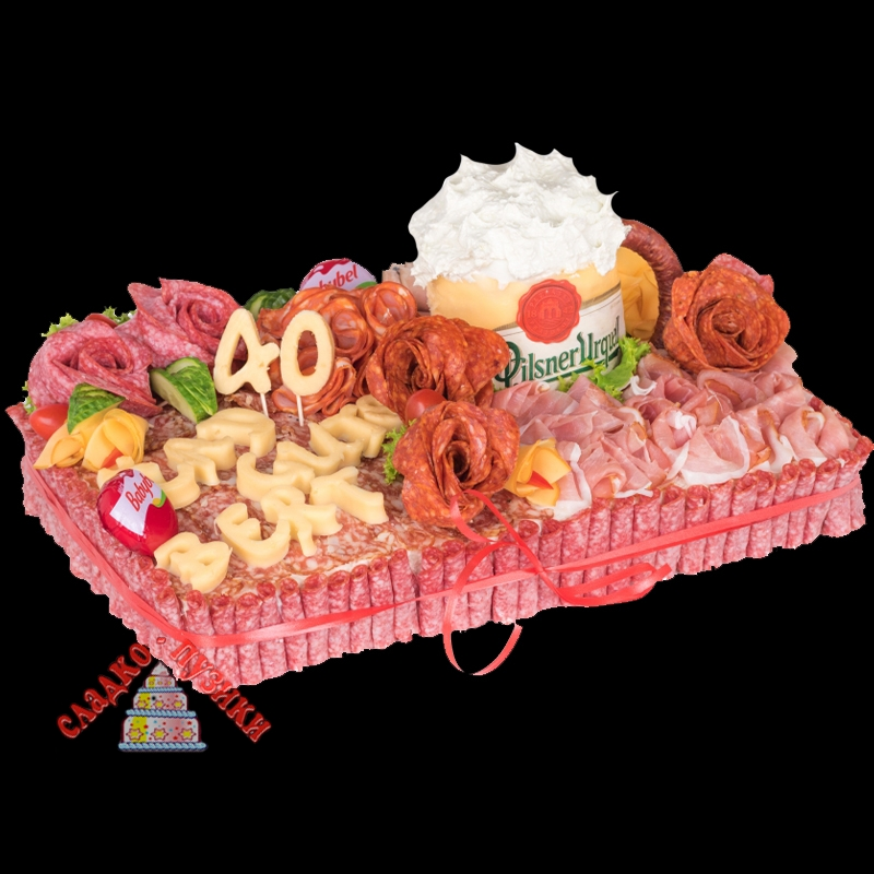 Соленый торт «Юбилей»