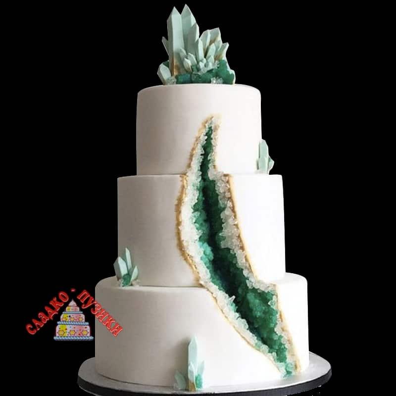 Свадебный торт Морской