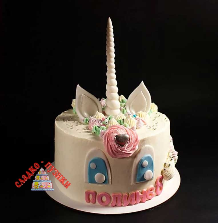 Детский торт единорог