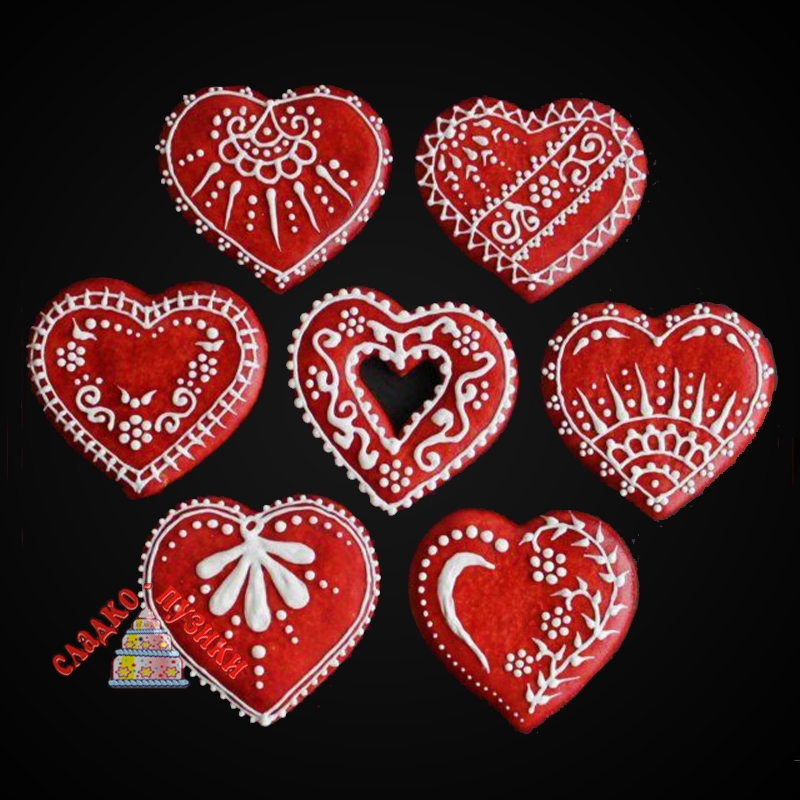 Пряник «Сердце»
