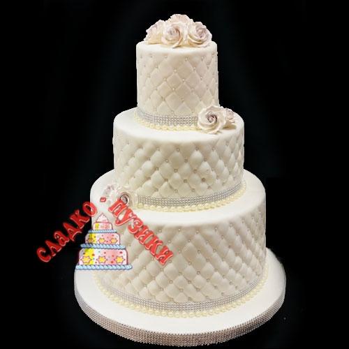 Свадебный торт принцесса