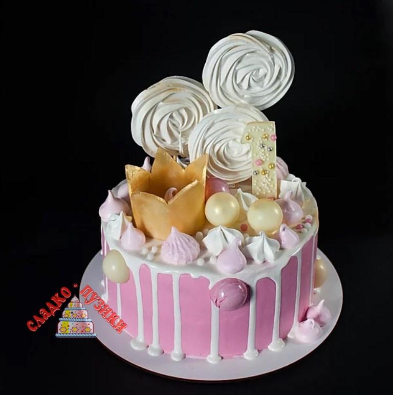 Детский торт принцесса 2
