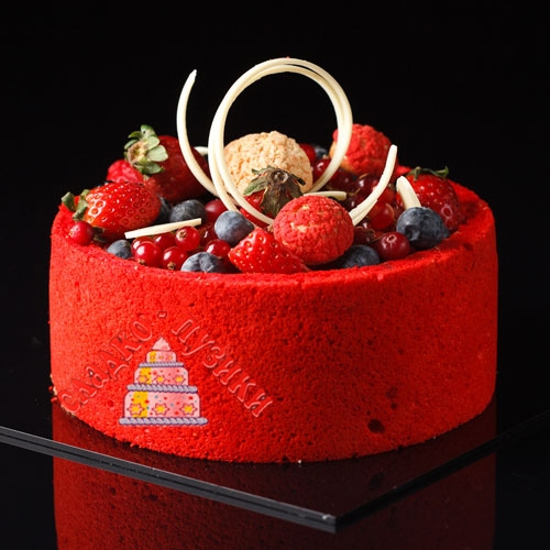 Торт ягодка