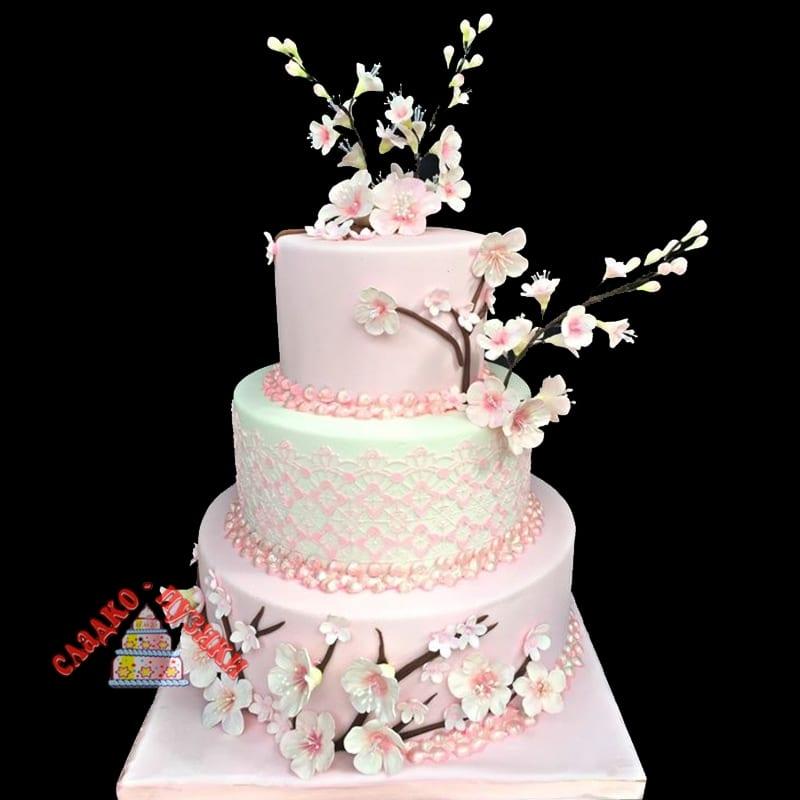Свадебный торт Весна