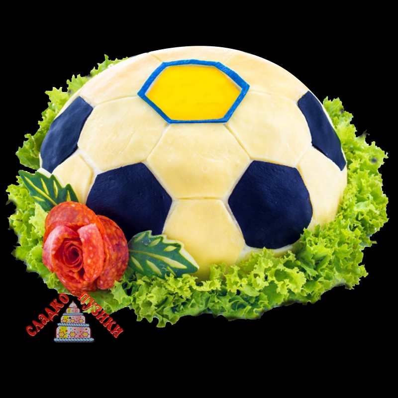 Соленый торт «Футбол»