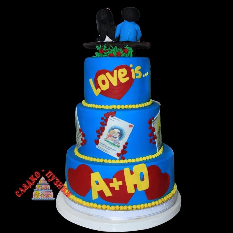 Свадебный торт А Ю