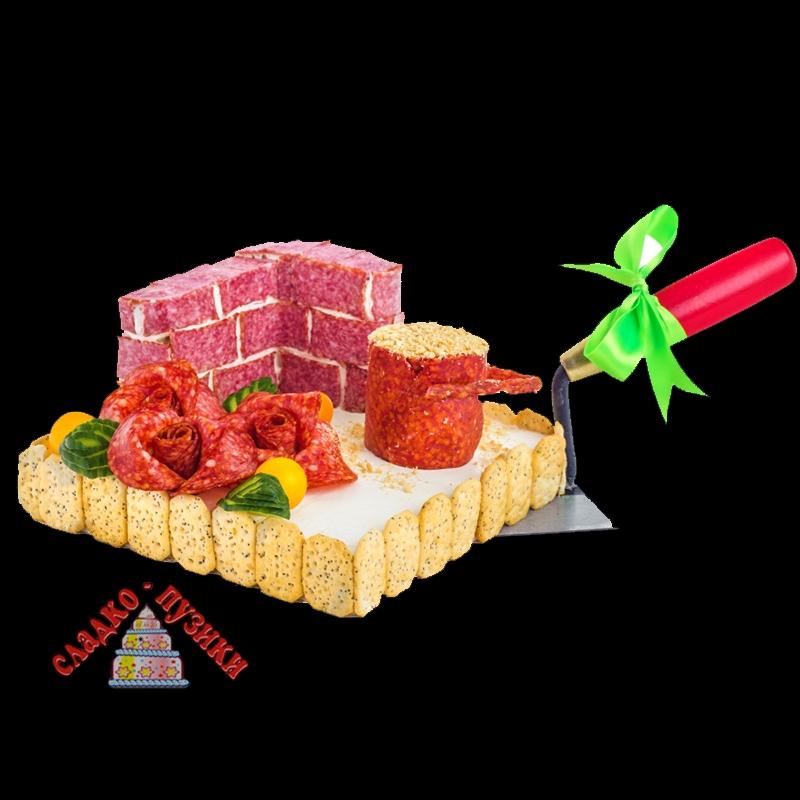 Соленый торт «Ремонт»