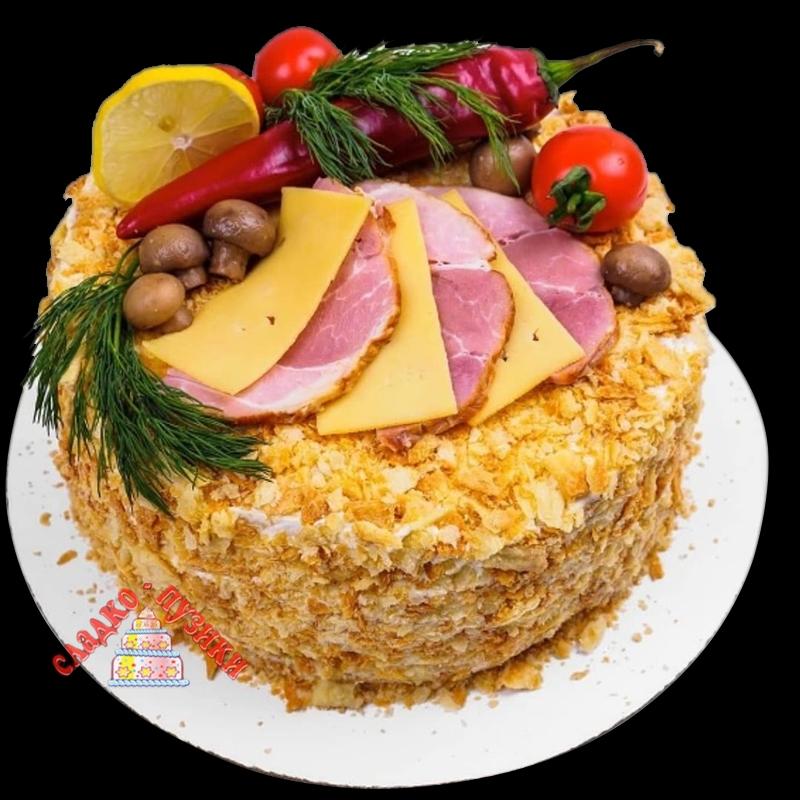 Соленый торт «Слайс»