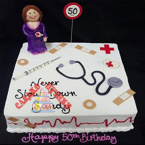 Детский торт доктор