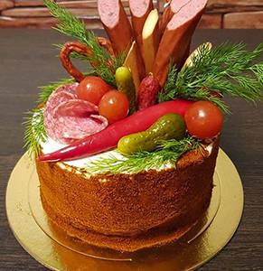 Соленые торты